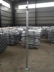 Helical Flanged Plate Ground Screw Foundation pictures & photos