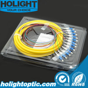 Fiber Optic Pigtail LC Single Mode pictures & photos