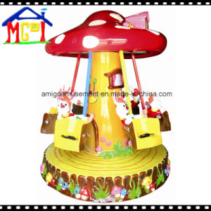 Mushroom Swing Kiddie Ride for Children Roundabout pictures & photos