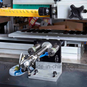 Automatic Carousel Silk Screen Printing Machine for Student Ruler pictures & photos