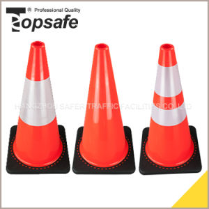 28 Inch Soft Orange Color PVC Cone Popular in Chile Peru Mexico Colombia pictures & photos