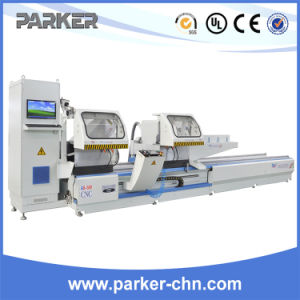 Aluminum Profile Arbitrary Angle CNC Double Head Cutting Saw pictures & photos