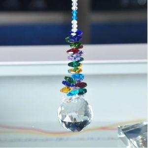 40mm Lighting Ball Accessories Chandelier Parts Pretty Home Decoration Crystal Suncatcher Pendants Prisms Glass Beads pictures & photos