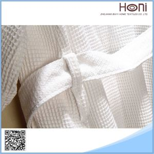 Hotel High Quality White Bathrobe pictures & photos