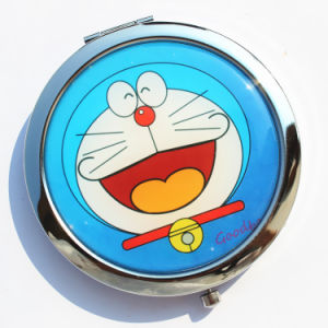Souvenirs Customized Round Portable Cosmetic Pocket Mirror pictures & photos