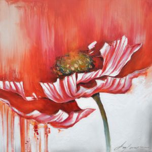Large Size Watercolor Floral Oil Painting on Canvas pictures & photos