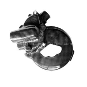 Carbon Fiber Water Pump Cover Ducati 848, 1098, 1198, Streetfighter