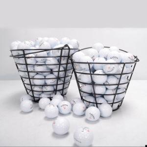 Metal Golf Basket Cool Golf Ball Container Golf Accessories