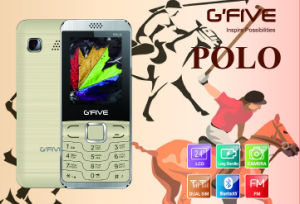 Gfive Polo Feature Phone with FCC, Ce, 3c