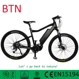 Btn 27.5inch Electric Mountain Bike with Suspension pictures & photos
