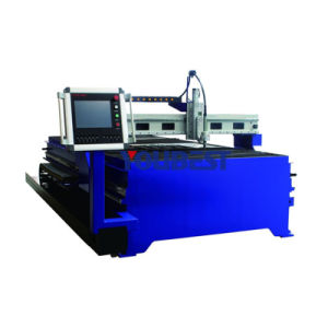 Cheap Chinese CNC Gantry Metal Steel Aluminum Stainless Plasma Cutting Machine pictures & photos