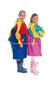 PVC Rain Coat for Children pictures & photos