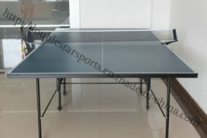 Double-Folding Table Tennis Table with Wheel pictures & photos
