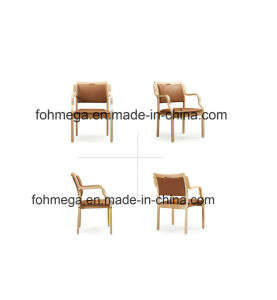 New Arrival Wooden Armrest Restaurant Chair (FOH-17R13) pictures & photos
