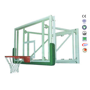 Customized Wallmounted Safety Tempered Glass Basketball Equipment pictures & photos