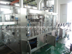 Linear Type Automatic 3-in-1 Carbonated Drinks Filling Capping Machinery pictures & photos
