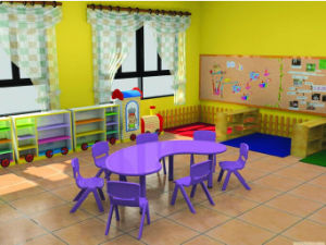 Kids Study Table and Chair pictures & photos