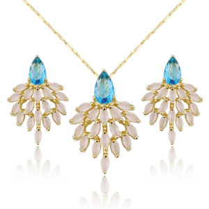 Beautiful Wholesale Latest Design Brazil Shell Women High Quality Jewelry Set pictures & photos