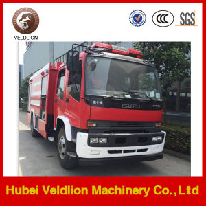 Japan Brand Ftr 8000L Water-Foam Fire Fighting Truck pictures & photos