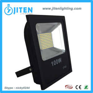 IP65 Aluminum Slim 100W SMD LED Floodlight for Outdoor pictures & photos