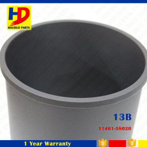 Auto Factory Diesel Engine 13b Cylinder Liner Parts Part No (11461-58020) pictures & photos