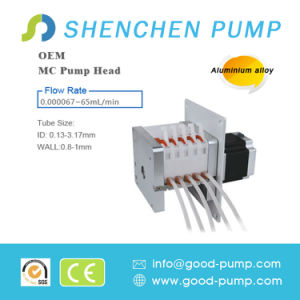 Mc5 (Alloy) Stepper Motor Low Price Mini DC Peristaltic Pump for Liquid Transfer pictures & photos