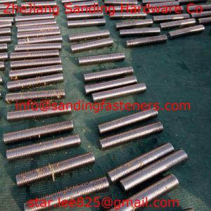 Stainless Steel Both End Thread Rod pictures & photos