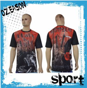 Wholesale T-Shirts Free Design Sublimation Printing Quick Dry T-Shirt (T013) pictures & photos