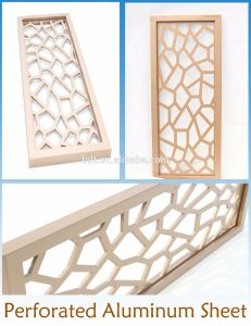 Interior and Exterior Aluminum Wall Facade Panels for Decorative pictures & photos