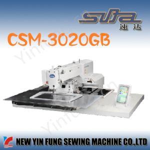 Peumatic Large Area Servo Motor Drive High Accuracy Sewing Machine