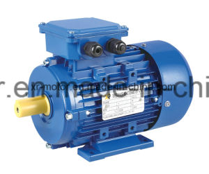 0.75kw / 6poles Ms Series Three-Phase Induction AC Motors Aluminum Housing pictures & photos