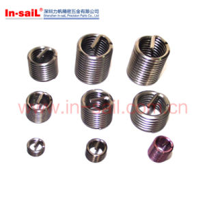 Stainless Steel Thread Insert Prices Manufacturer pictures & photos