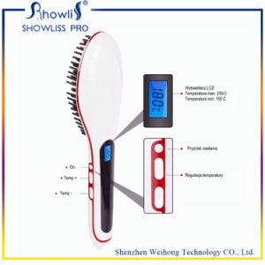 Hot Selling Hair Tool Hair Brush Straightener Beauty Star Hair Brush for Lady