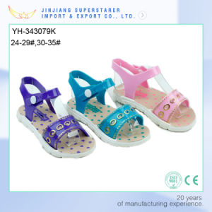Elegant PVC Kids Sandals, latest Design Style pictures & photos