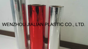 Aluminizing Twist Sweet Wrapper Roll Film for Packing/Metalized Red Twist PVC Film pictures & photos