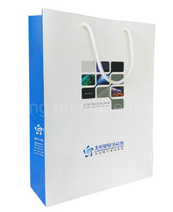 Custom Paper Gift Bags/Twisted Paper Handles Shopping Bags Wholesale/Recyclable Wholesale Gift Paper Bag pictures & photos