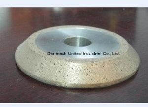 Good Price Quality Glass 45degree Diamond Wheel 10mm, Glass Diamond Wheel pictures & photos