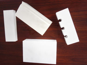 High Alumina 92% 95% Alumina Ceramic Lining Brick for Complex Pipeline pictures & photos