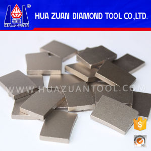 Fan Shape Diamond Segment for Welding Saw Blade pictures & photos