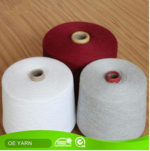 Ne14s High Quality Open End Cotton Yarn for Knitting Sock pictures & photos