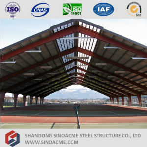 Prefabricated Steel Portal Frame Sports Center Shed pictures & photos