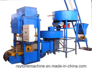 Smy8-128 Automatic Concrete Floor Tile Making Machine Roof Tile Forming Machine pictures & photos