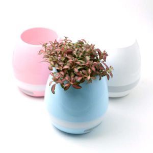 Bluetooth Speaker LED Light Music Smart Flower Pot pictures & photos