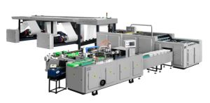 High Speed Double Rotatable Roll Copy Paper Cutting Machine pictures & photos