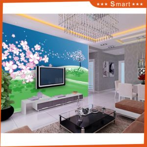 Beautiful Scenery Design Cartoon Wallpaper for Home Decoration Oil Painting pictures & photos