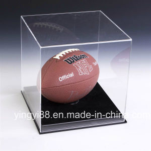 Clear Acrylic Baseball Display Case with Black Base pictures & photos