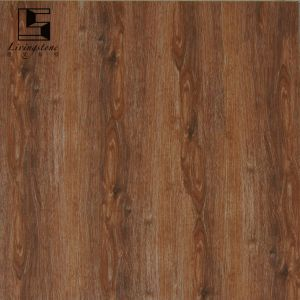 Wooden Flooring Tile Dark Color Inkjet Polished Tiles pictures & photos