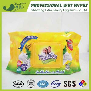100% Bamoo Fiber Natural Baby Wet Tissues Cleaning Wet Wipe pictures & photos