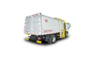 7L Side Load Garbage Truck pictures & photos