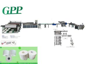 Full-Automatic Small Toilet Tissue Prodution Line Machine pictures & photos